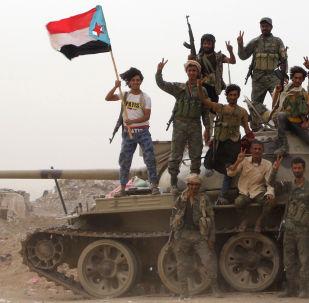 Yemen'de Birleşik Arap Emirliği (BAE) destekli Güney Geçiş Konseyi askerleri