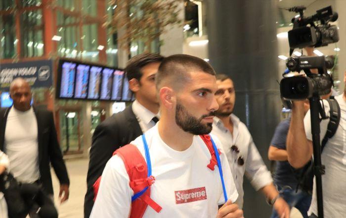 Beşiktaş'ın yeni transferi Rebocho, İstanbul'da