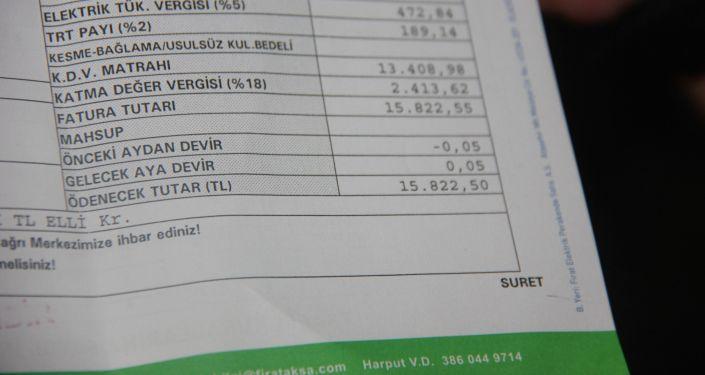 15 bin 822 liralık elektrik faturası gelince şaşkına döndü