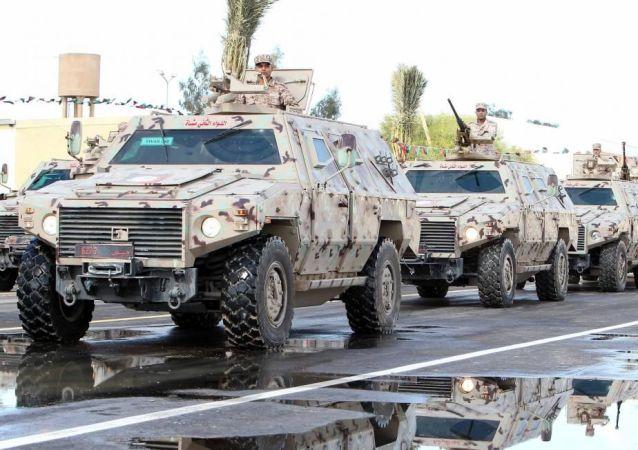 Halife Hafter komutasında Libya Ulusal Ordusu (LUO)