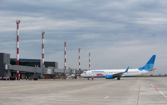 Türk şirketin inşa ettiği Rusya'daki havalimanına ilk uçuş yapıldı