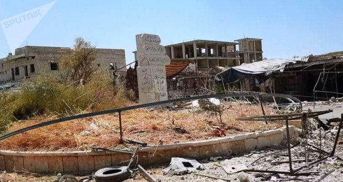 Suriye ordusunun kurtardığı Han Şeyhun'dan ilk görüntüler