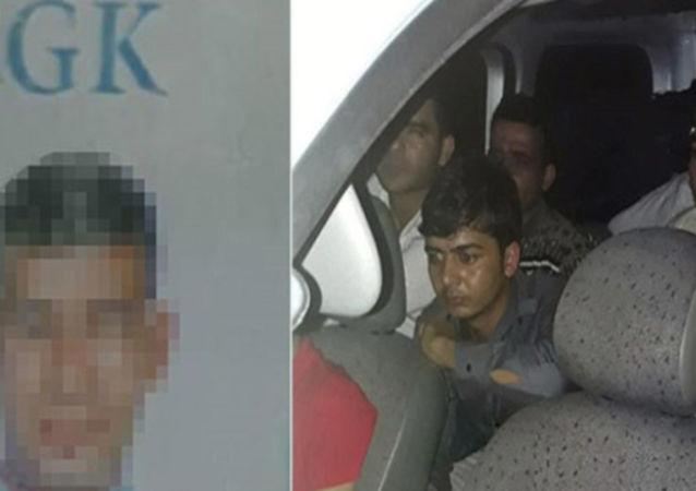 SGK çalışanı göçmen kaçırırken yakalandı