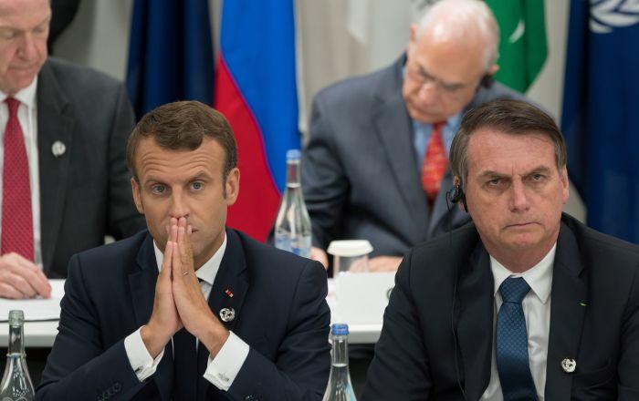 Macron ve Bolsonaro arasında Amazonlar'daki yangın gerginliği