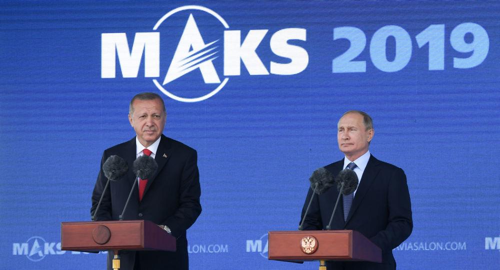 Recep Tayyip Erdoğan- Vladimir Putin