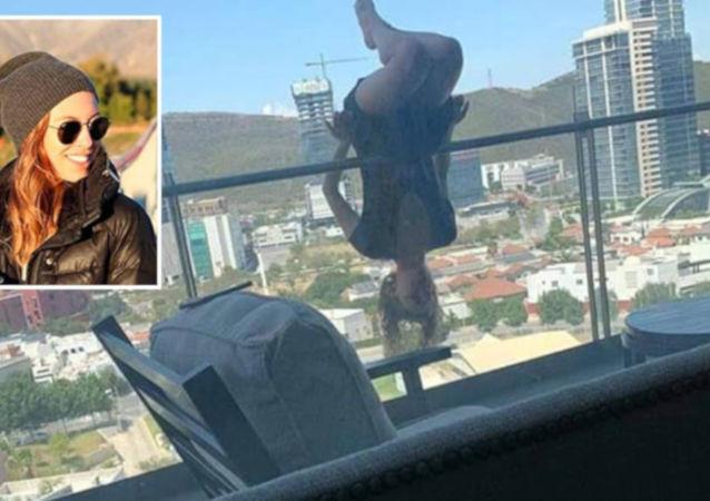 Yoga yaparken 24 metre yüksekten beton zemine çakıldı