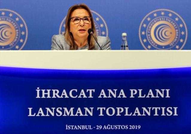 Ticaret Bakanı Ruhsar Pekcan, Swiss Hotel The Bosphorus'da düzenlenen İhracat Ana Planı lansman toplantısına katılarak konuşma yaptı.