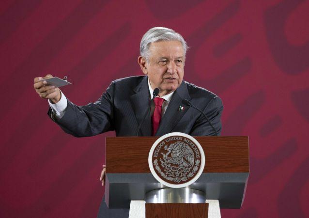 Meksika'da, devlet başkanının toplantılar için kullandığı Ulusal Saray'daki bir odada gizli kamera bulunduğu bildirildi.