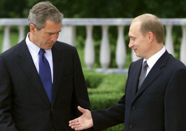 Vladimir Putin, George Bush