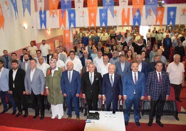 AK Parti Genel Merkez Dış İlişkiler Başkan Yardımcısı Mehmet Ceylan