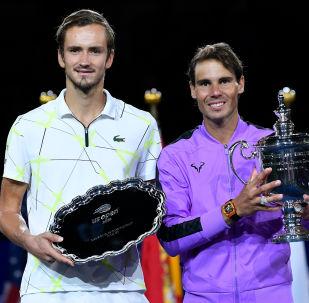 İspanyol Rafael Nadal ve Rus Daniil Medvedev