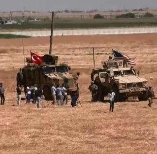 Türkiye ile ABD askerlerinden Suriye'de ortak devriye