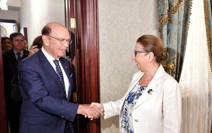 Bakan Pekcan, ABD Ticaret Bakanı Ross ile görüştü: Amacımız iki ülke arasında 100 milyar dolar hedefine ulaşmak