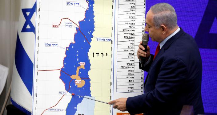 BBenyamin Netanyahu'nun yeniden başbakan seçilirse Batı Şeria'yı ilhak edeceğini açıkladığı basın toplantısı, İsrail kanallarında canlı yayımlandı.