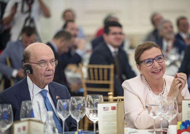 ABD Ticaret Bakanı Wilbur Ross - Ticaret Bakanı Ruhsar Pekcan