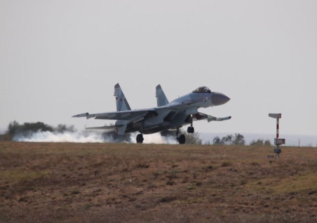 İstanbul'a iniş yapan Su-35