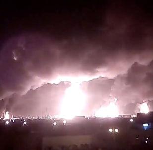 Suudi Arabistan'da petrol tesislerine drone ile saldırı