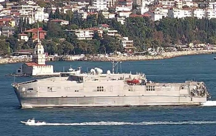 ABD Donanması'nın hızlı sefer gemisi Karadeniz'e girdi