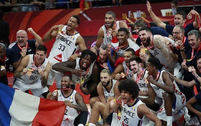 FIBA Dünya Kupası'nda Fransa dünya üçüncüsü oldu