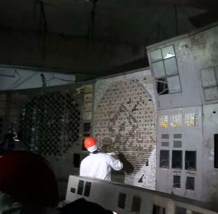 Çernobil santralinin içeriden nasıl göründüğünü hiç merak ettiniz mi?