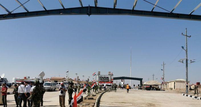 Suriye-Irak arasındaki sınır kapısı  -  Elbukemal-Kaim