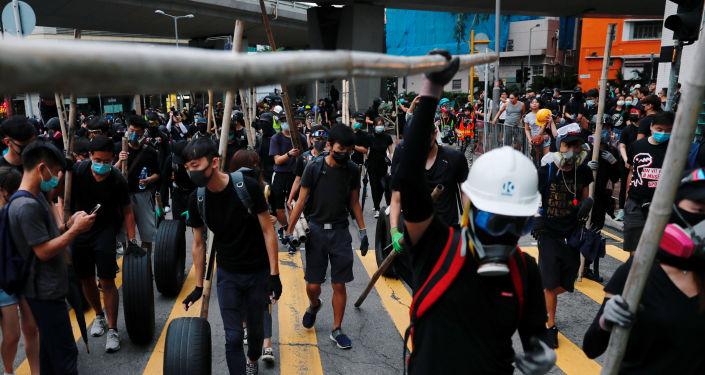 Hong Kong'da protestolar