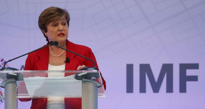 Uluslararası Para Fonu (IMF) BaşkanıKristalina Georgieva
