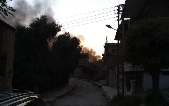 Suriye medyası: Türk ordusu Resulayn'da su tedarik istasyonunu vurdu