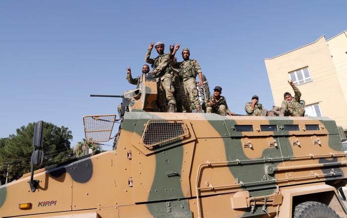 Milli Savunma Bakanlığı: Barış Pınarı Harekatı kapsamında etkisiz hale getirilen terörist sayısı 399