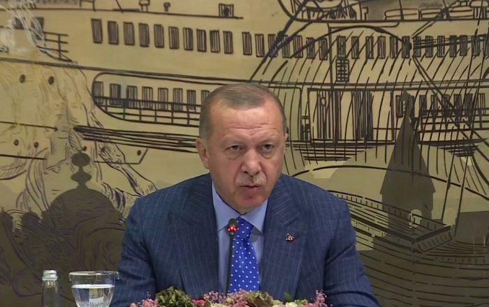 Erdoğan: YPG'nin serbest bıraktığı DAEŞ'li sayısı 750, TSK 195 tanesini yakaladı
