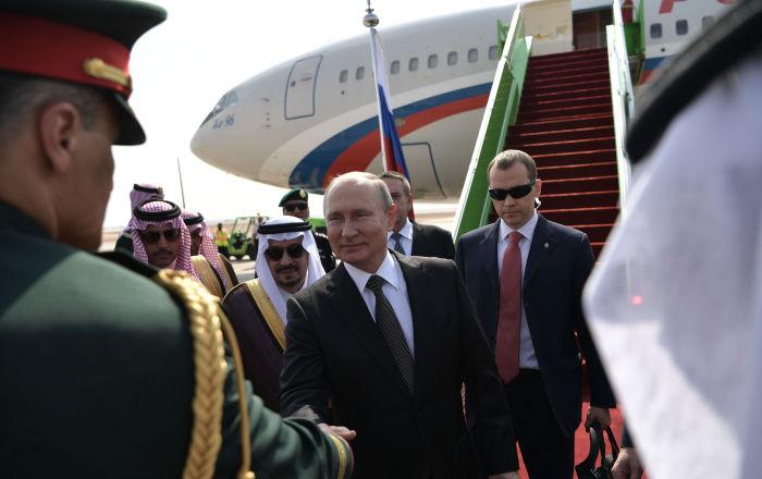 Putin, 2007'den beri ilk kez Suudi Arabistan'da