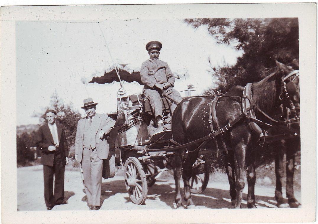 İvan Mihayloviç Mayski'nin Büyükada'dan bir fotoğrafı