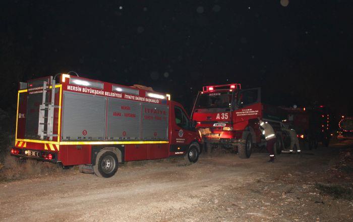 Mersin'de orman yanıgnı