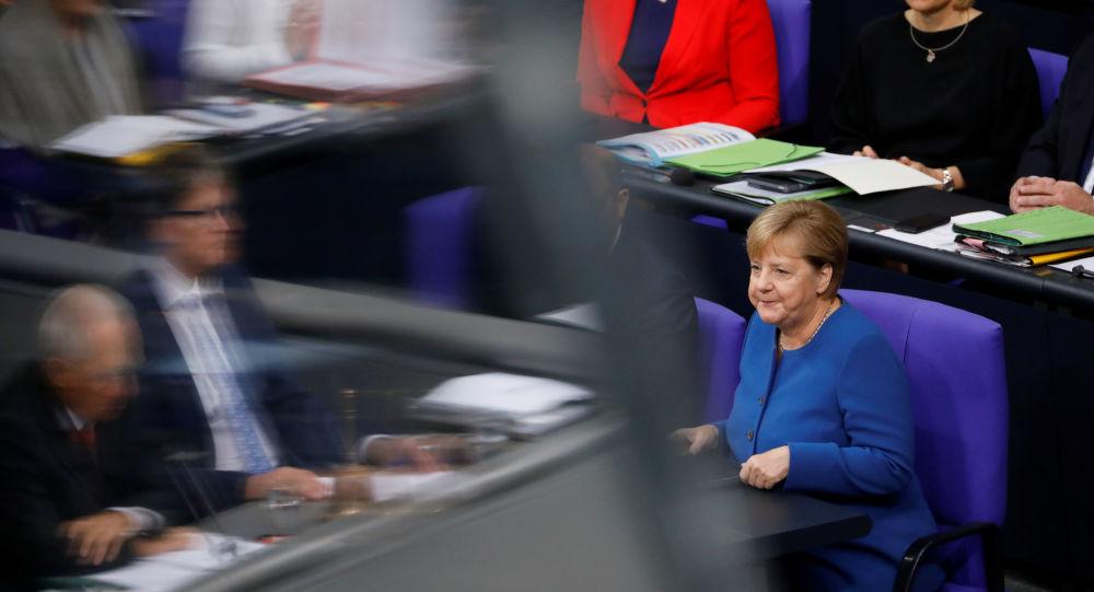 Almanya Başbakanı Angela Merkel