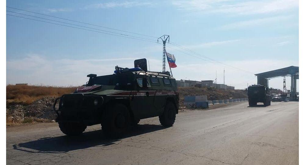 Rusya: Rus askeri polisi Suriye'nin kuzeyinde yeni bir bölgede devriye yaptı