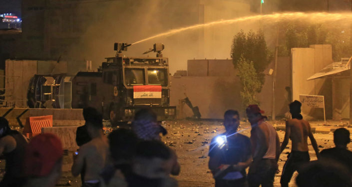 Irak'ta güvenlik güçlerinden protestoculara müdahale