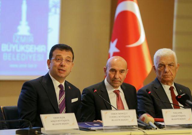 Ekrem İmamoğlu, CHP'li büyükşehir belediyeleri toplantısında