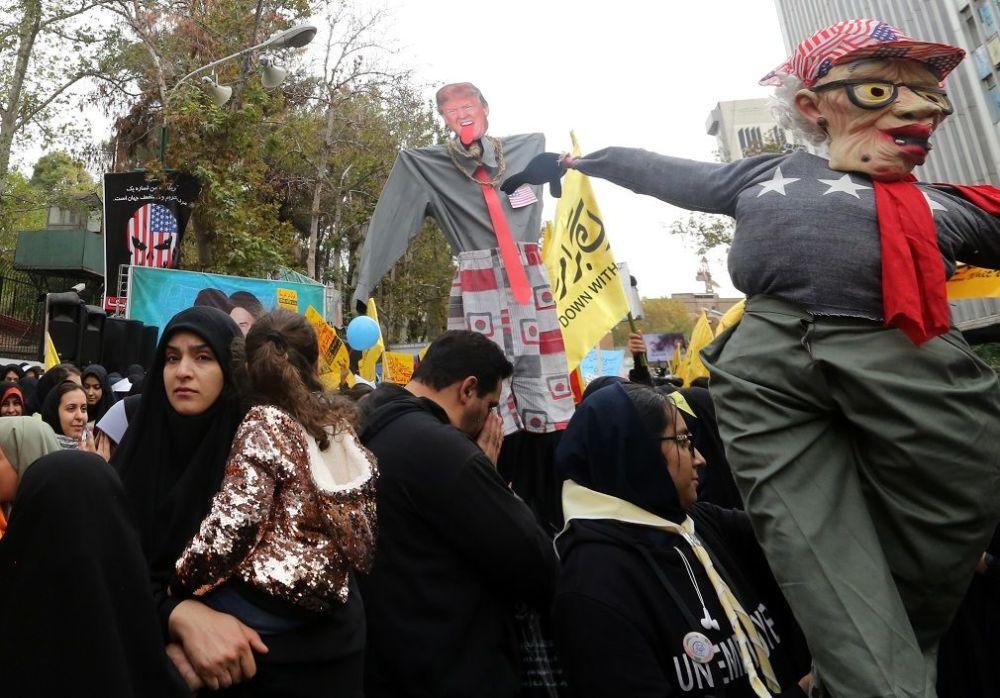 Musevi, ABD'nin bu yüzden İran'da halk ayaklanması çıkarma peşinde olduğunu ileri sürdü.
