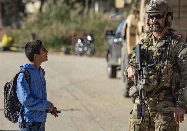 Suriye -  ABD askerleri