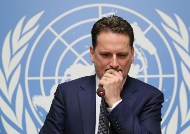 Birleşmiş Milletler (BM) Filistinli Mültecilere Yardım KuruluşuGenel Komiseri Pierre Krahenbühl