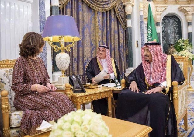 Suudi Arabistan Kralı Selman bin Abdulaziz, ABD Merkezi İstihbarat Teşkilatı (CIA) Başkanı Gina Haspel'i Riyad'da kabul etti.