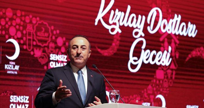 Dışişleri Bakanı Mevlüt Çavuşoğlu, Kızılay Antalya Şubesi'nin gerçekleştirdiği ''Hilal Tanıtım Etkinliği''ne katıldı.