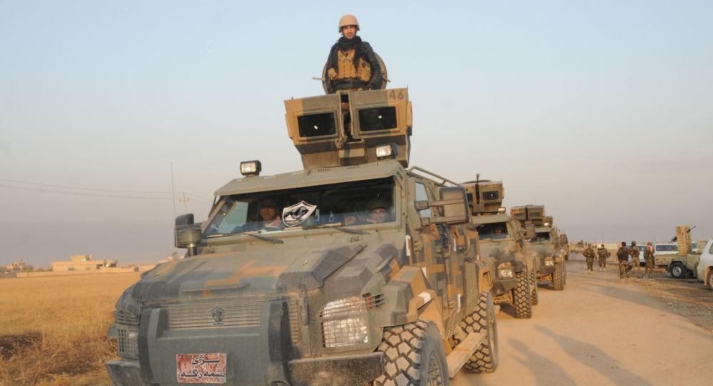 Peşmergegüçleri Irak'ın kuzeyindeki Süleymaniye'nin Germiyan bölgesi kırsalında IŞİD'e karşı operasyondüzenledi.