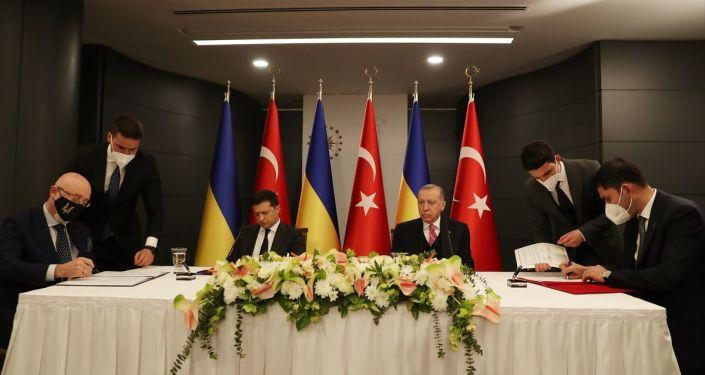 Erdoğan-Zelenskiy görüşmesine ilişkin ortak bildiri yayınlandı