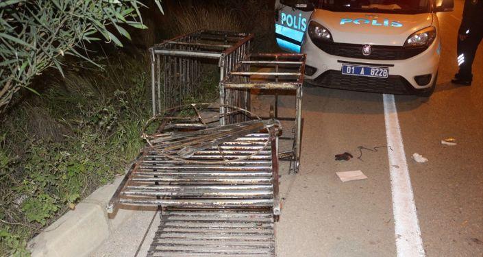 Adana'da hastane deposundan raf çaldığı iddia edilen iki hırsızlık  şüphelisi gözaltına alındı - Sputnik Türkiye