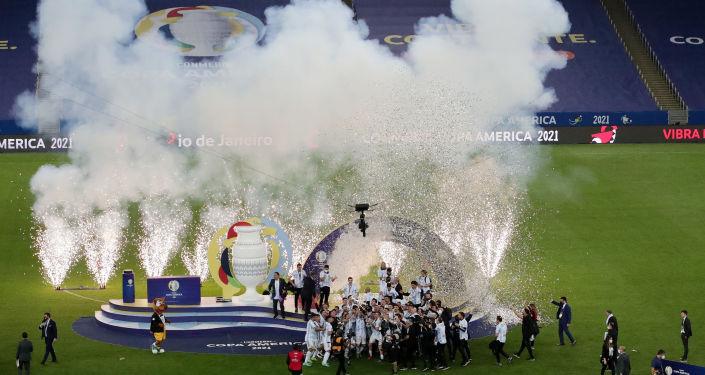 Copa America finalinde sahte Kovid-19 belgesi skandalı