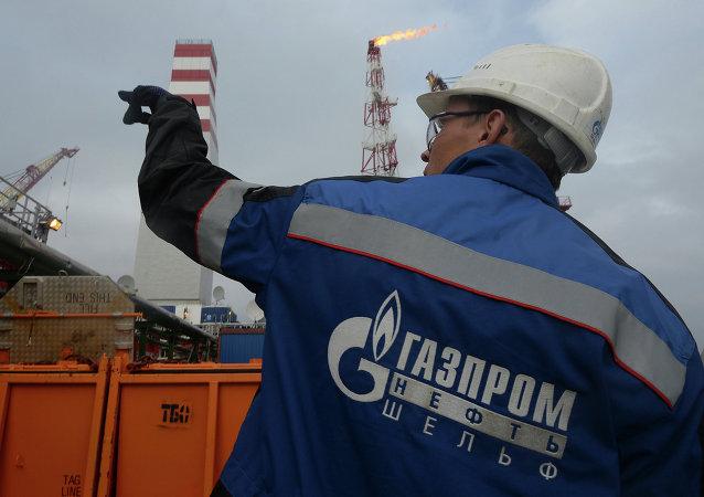 Gazprom petrol