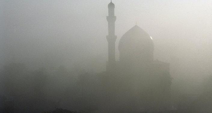 Irak'ta bir cami
