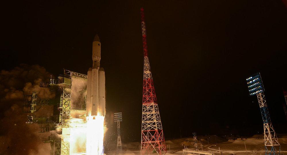 "Yeni Rus ekolojik temiz roket ""Angara-A5"""