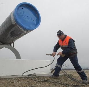 Güney Akım boru hattı inşaatı